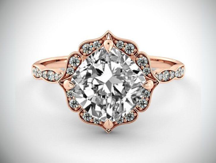1 Carat GIA Diamond Engagement Ring