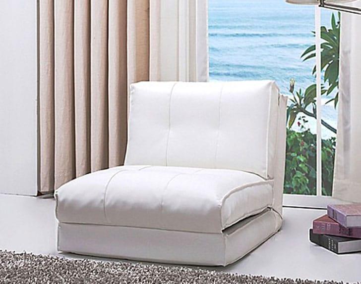 Abbyson Jackson Faux Leather Sleeper Chair