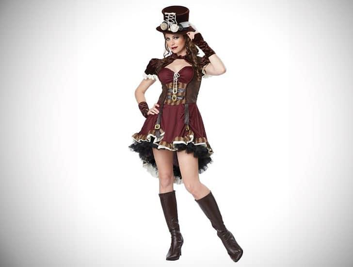 Adult Steampunk Dress Costume