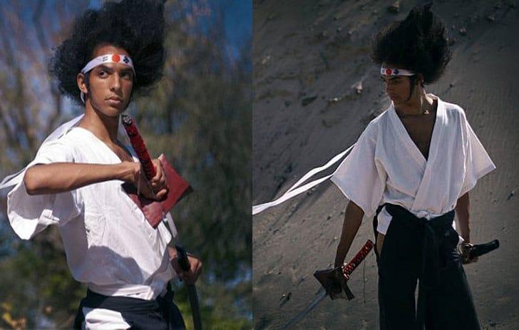 Afro Samurai - Afuro Samurai Anime Costume - Men's Anime Costumes For Guys