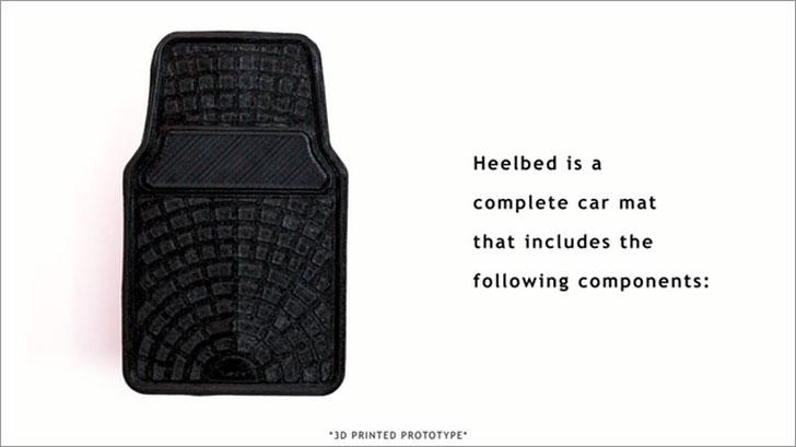 Anti-Fatigue Car Mat