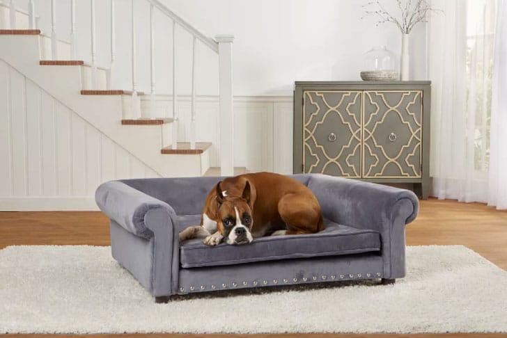 Archie & Oscar Copper Dog Sofa