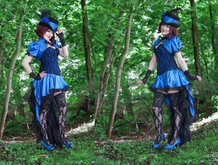 Bella Blue Steampunk Costume