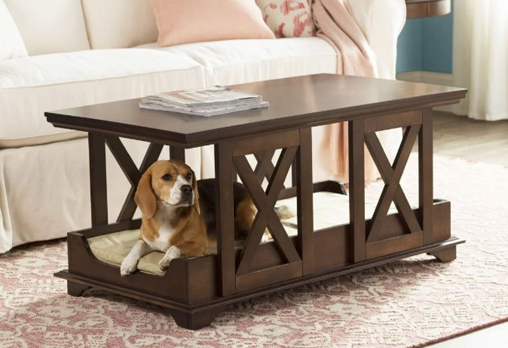 Coffee Table Dog Bed- unique dog beds