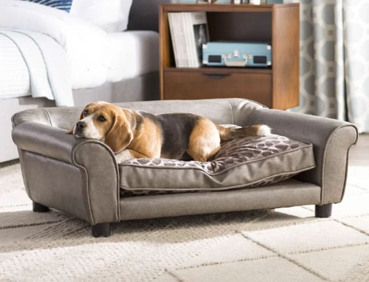 Corina Dog Sofa - unique dog beds