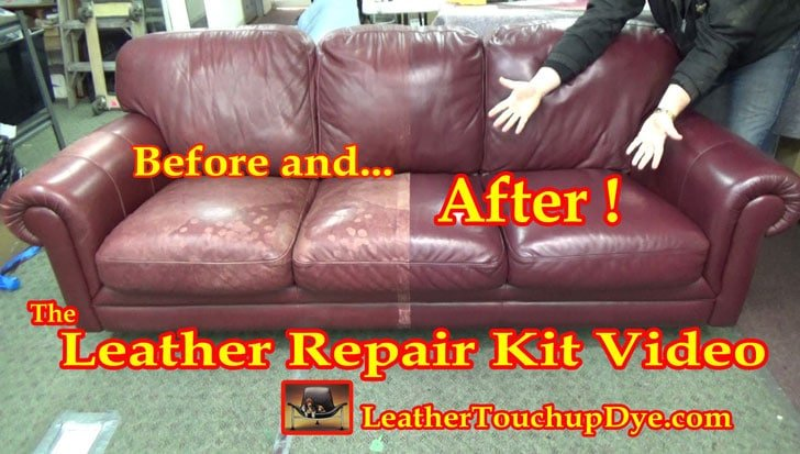 DIY Leather Restoration Kit