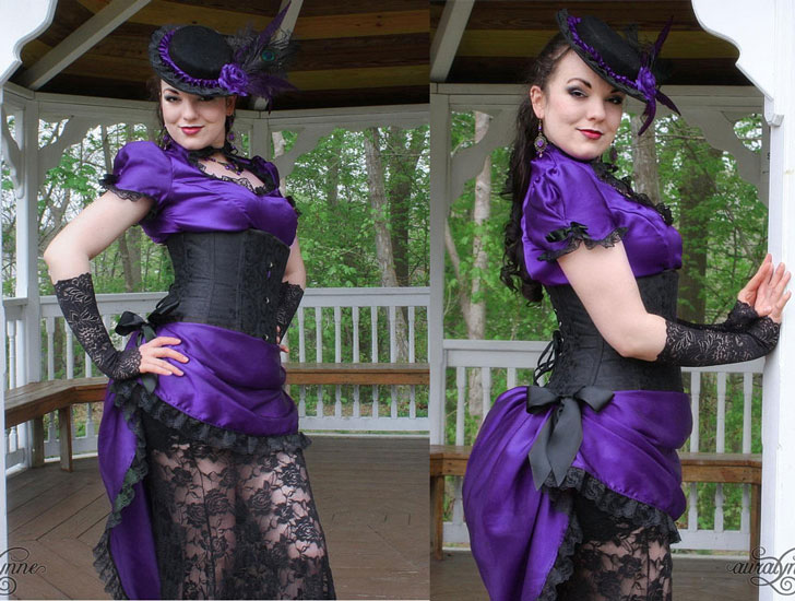 Dark Delight Victorian Dress