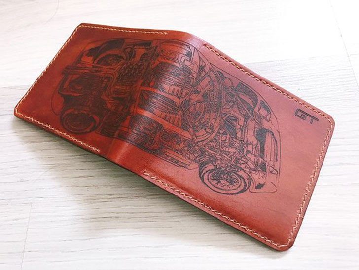 Ford GT Leather Wallet