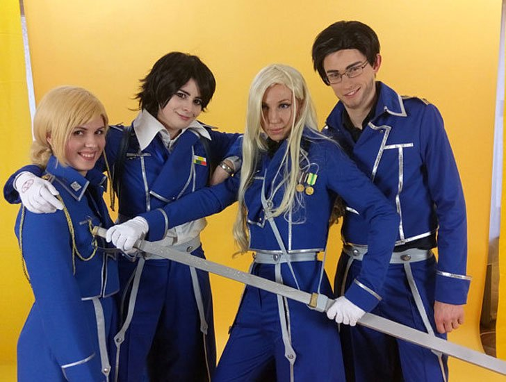 Fullmetal Alchemist Anime Cosplay Uniform