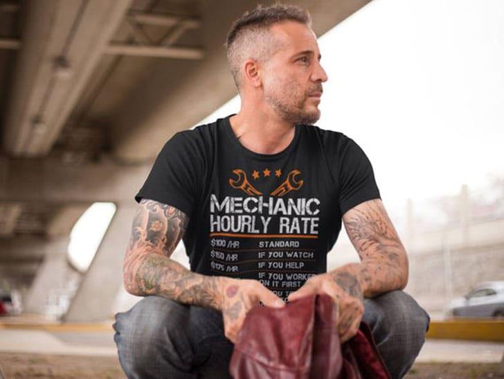 Funny Mechanic Shirt - Gifts For Mechanics