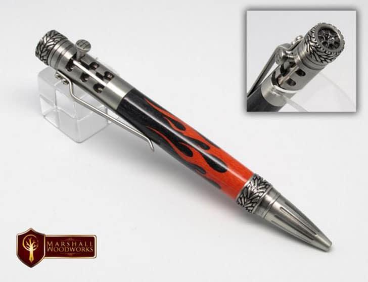 Hand Made Gearshift Pen