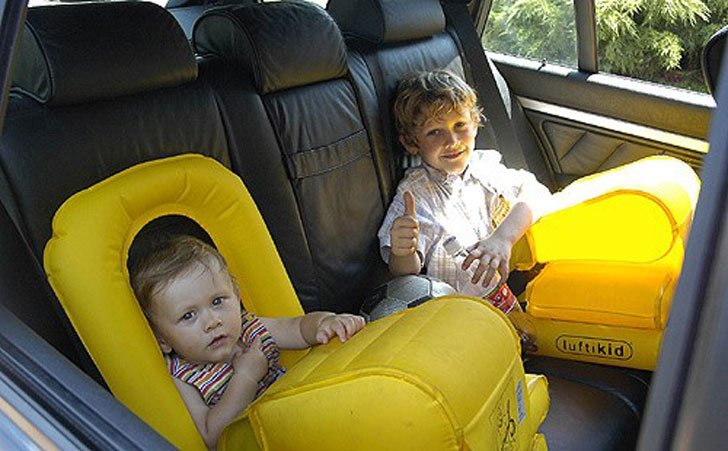Inflatable Child Safety Seat