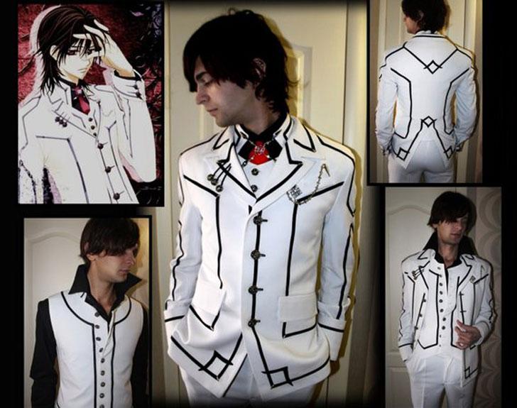 Kaname Kuran Vampire Knight Anime Costume - Men's Anime Costumes For Guys