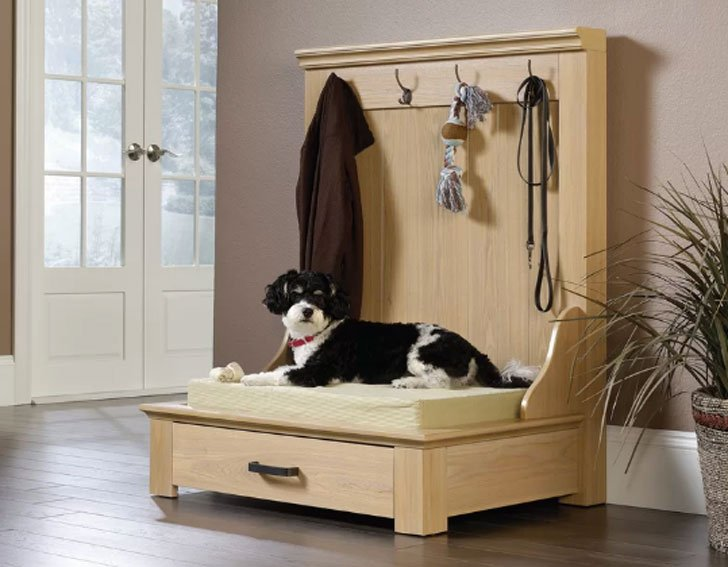 Lula Entryway Dog Bed - unique dog beds