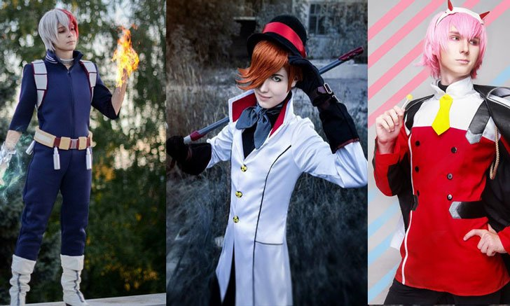 Men's Anime Costumes For Guys