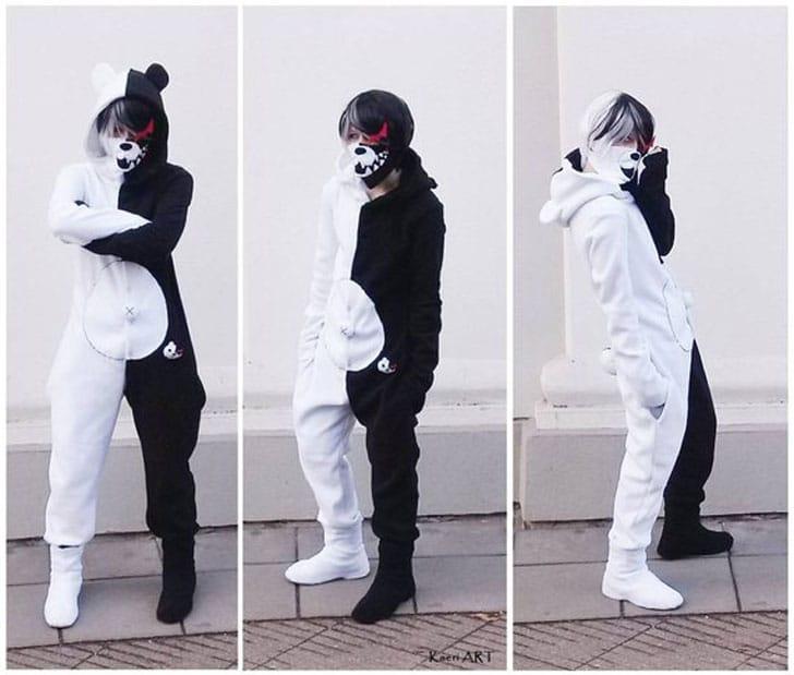 Monokuma~ Danganronpa Onesie Costume