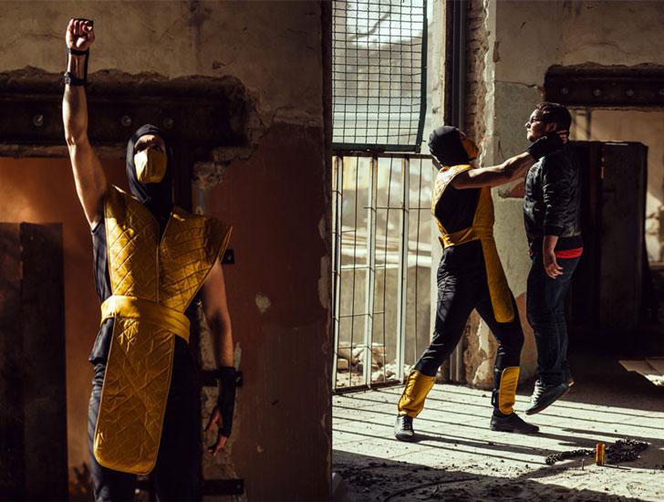 Mortal Kombat Scorpion Costume