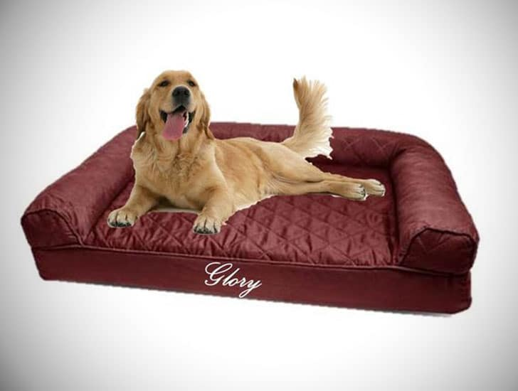 Personalised Dog Sofa Bed - unique dog beds
