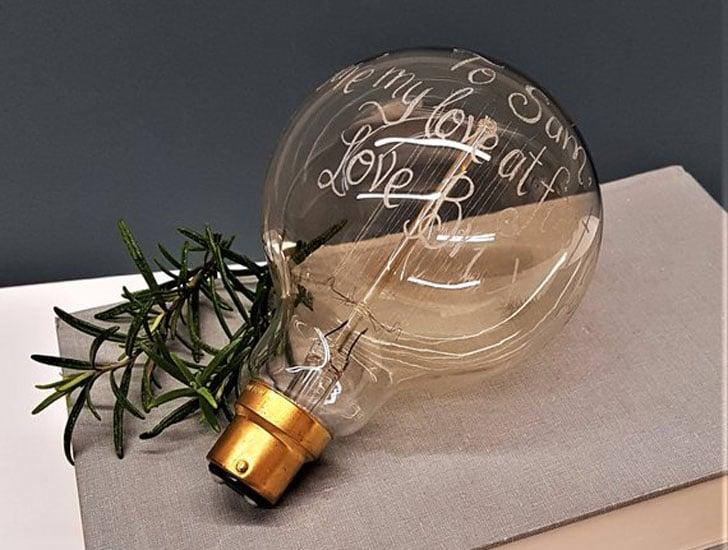 Personalised Giant Light Bulbs