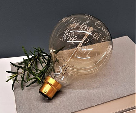 Personalised Giant Light Bulbs