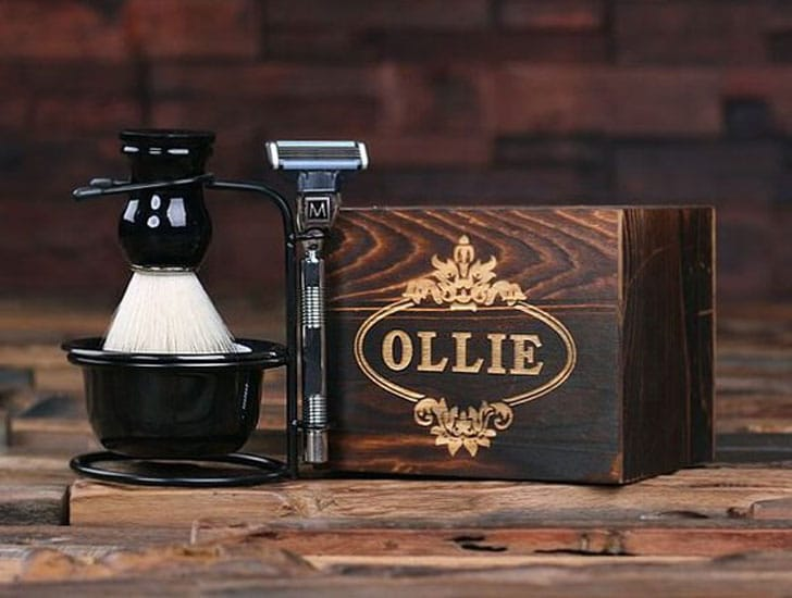 Personalized Monogrammed Shaving Kit