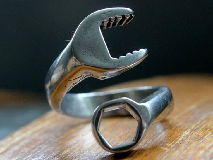Spanner Wrench Ring - Gifts For Mechanics
