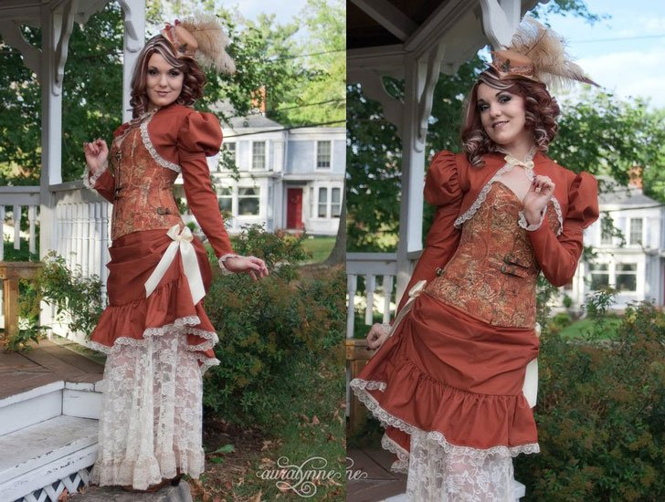 Steampunk Dress Mistress of Time Victorian Costume - Steampunk Costumes For Women