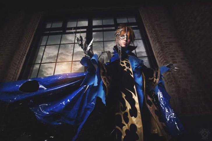 Syaoran Li Tsubasa Anime Fantasy Costume