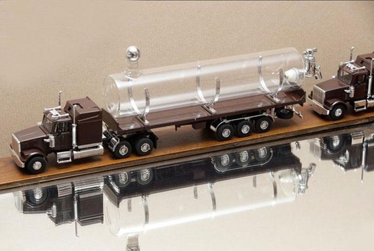Truck Bottle Truck Driver Gift