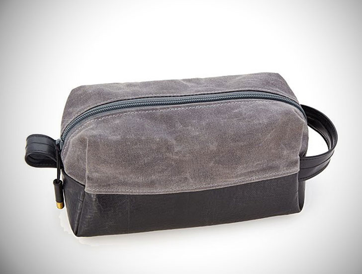 Upcycled Tire Toiletries Bag