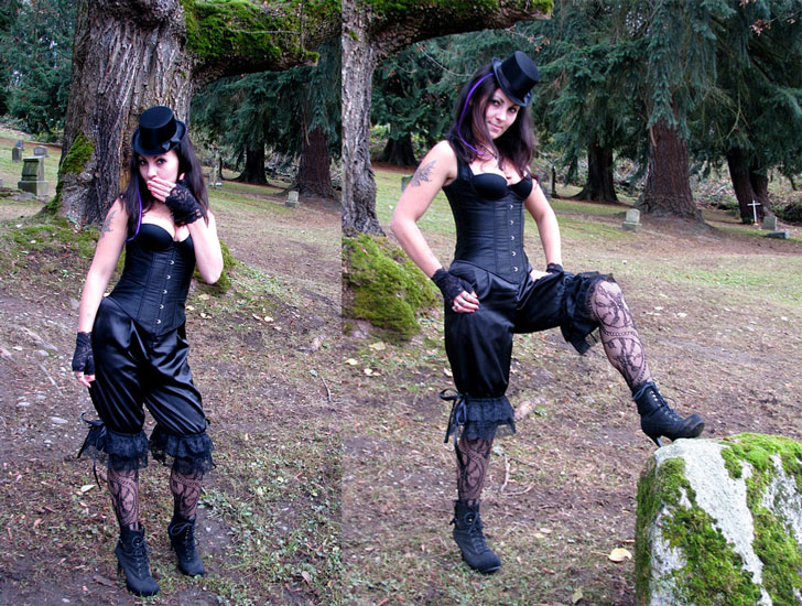 Victorian Bloomers Steampunk Clothing - Steampunk Costumes For Women