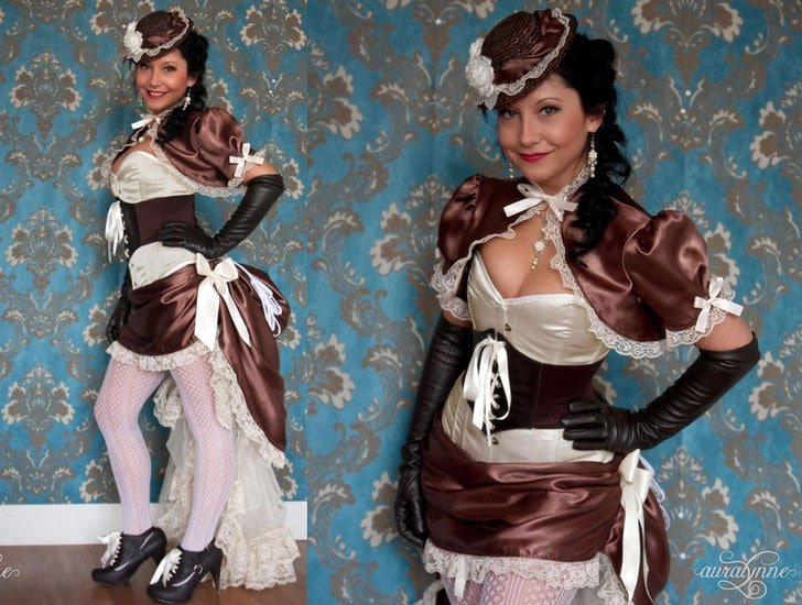 Victorian Steampunk Scrumptious Tea Party Costume