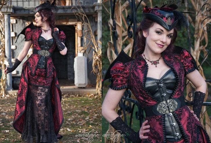 Victorian Steampunk Vampire Costume Dress