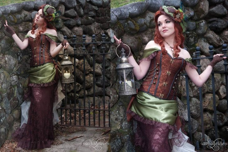 Victorian Tea Party Costume - Steampunk Costumes For Women