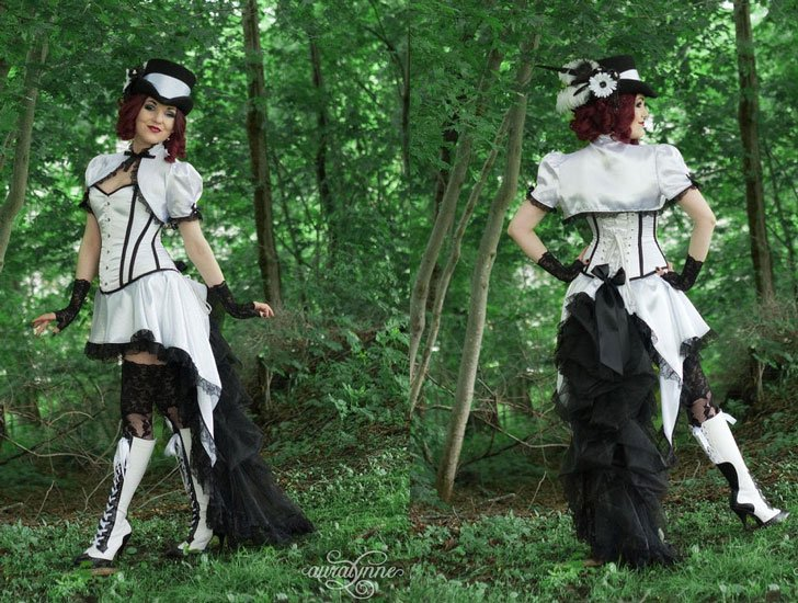 White Steampunk Costume - Steampunk Costumes For Women