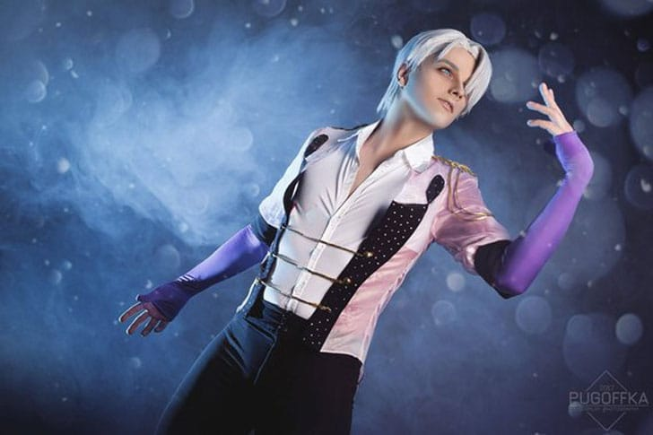 Youri on Ice Victor Cosplay Set