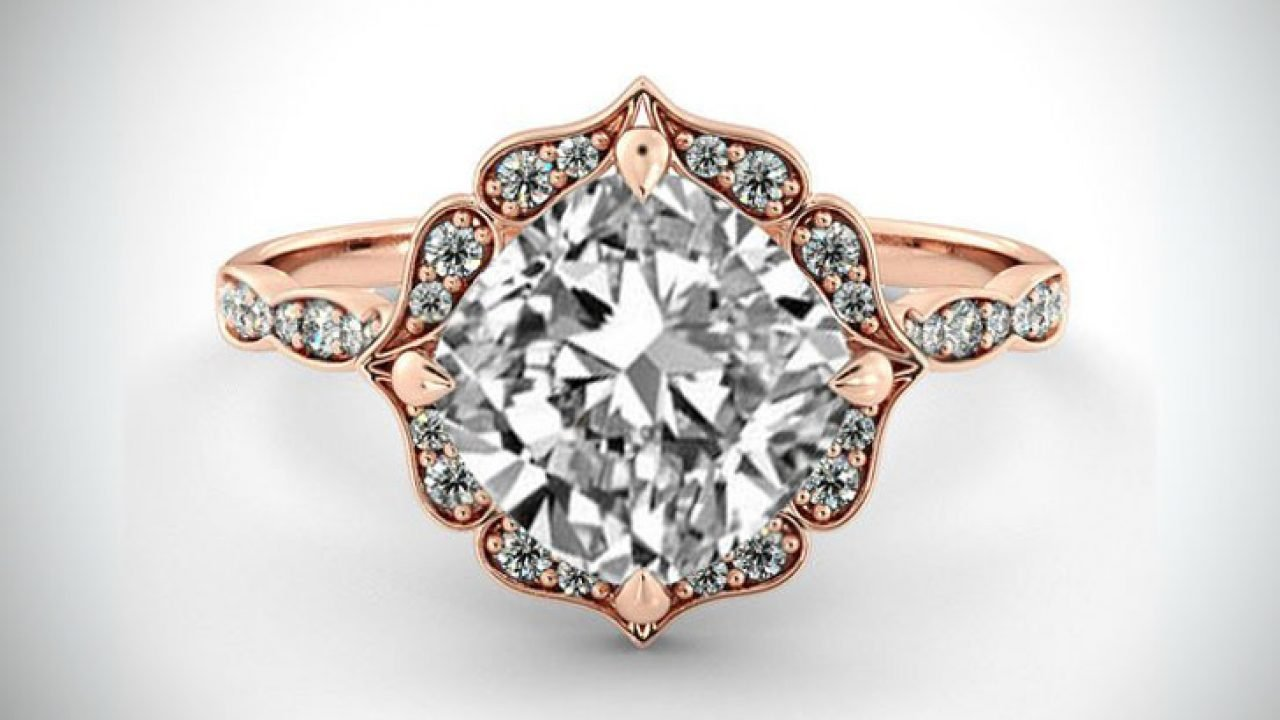 31 Unique Rose Gold Engagement Rings Ring Sets