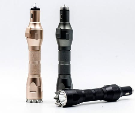 All-in-One Survival Gear Flashlight