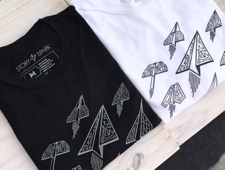 Ascend Paper Airplanes T-shirt