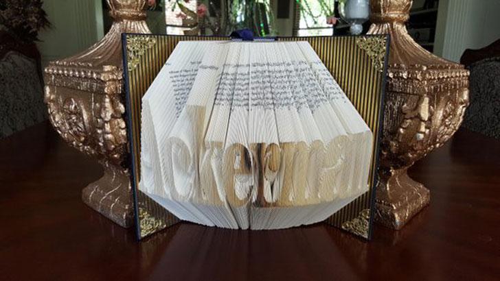 Attorney Folded Book Art