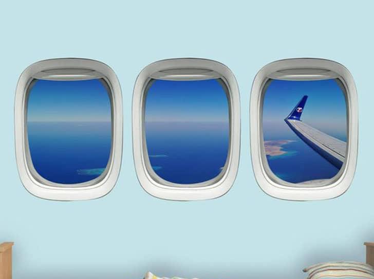 Aviation Window Decals