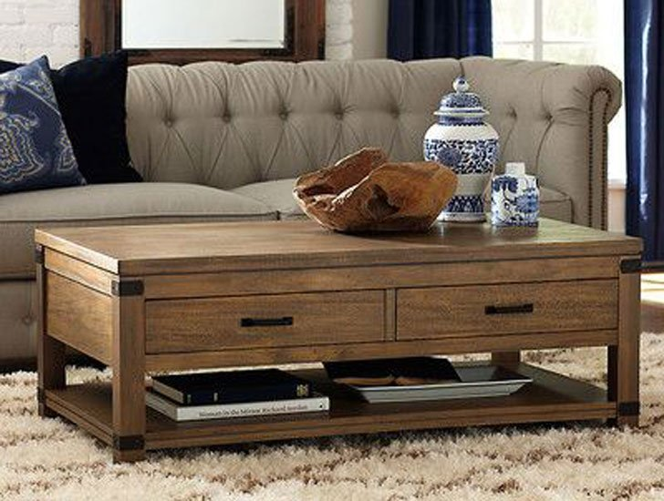 Bat Cliff Newberry Storage Coffee Table
