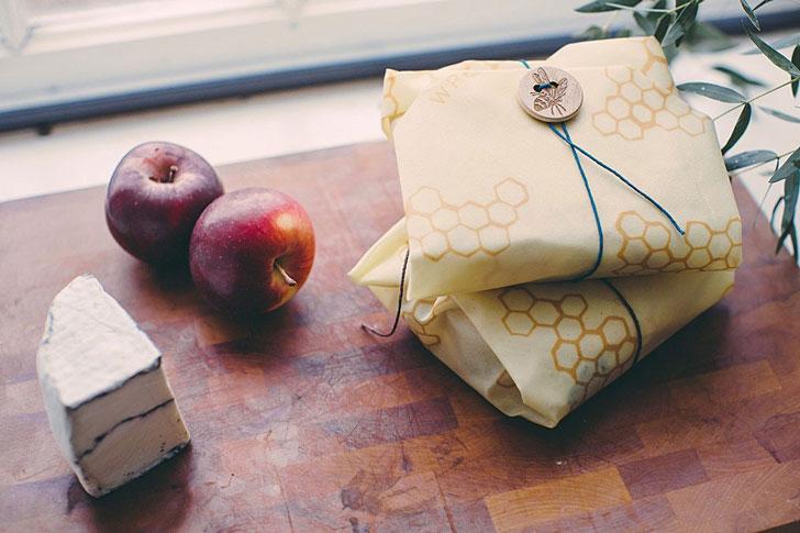 Beeswax Reusable Sandwich Wrap