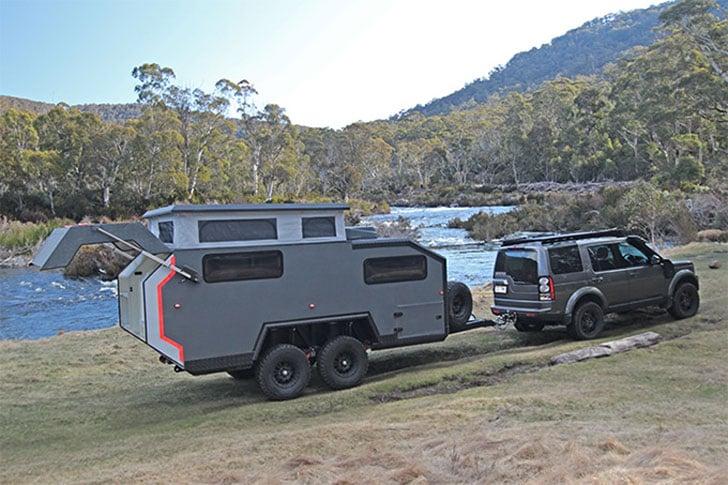 BruderX Ultimate Off-Road Camper Trailer