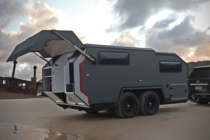 BruderX Ultimate Off-Road Camper Trailer