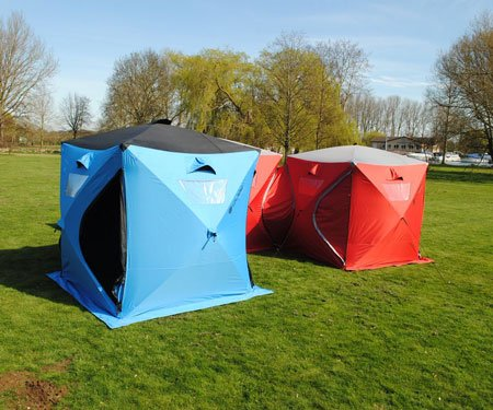 Connecting Qube Tents