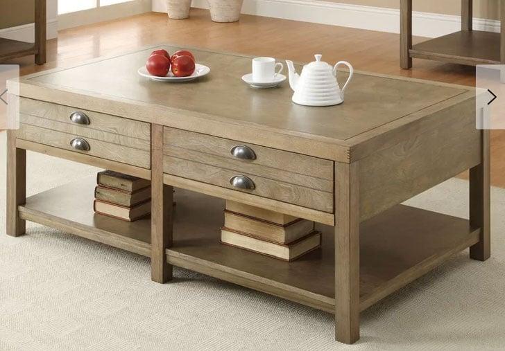 Copper Mountain Storage Coffee Table