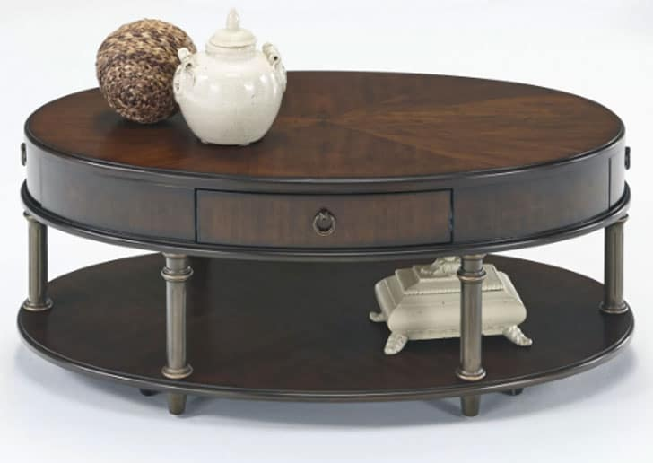 Danvers Round Storage Coffee Table