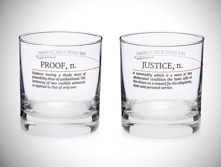 Devil's Dictionary Law Glasses