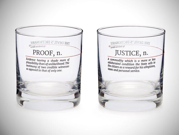 Devil's Dictionary Law Glasses